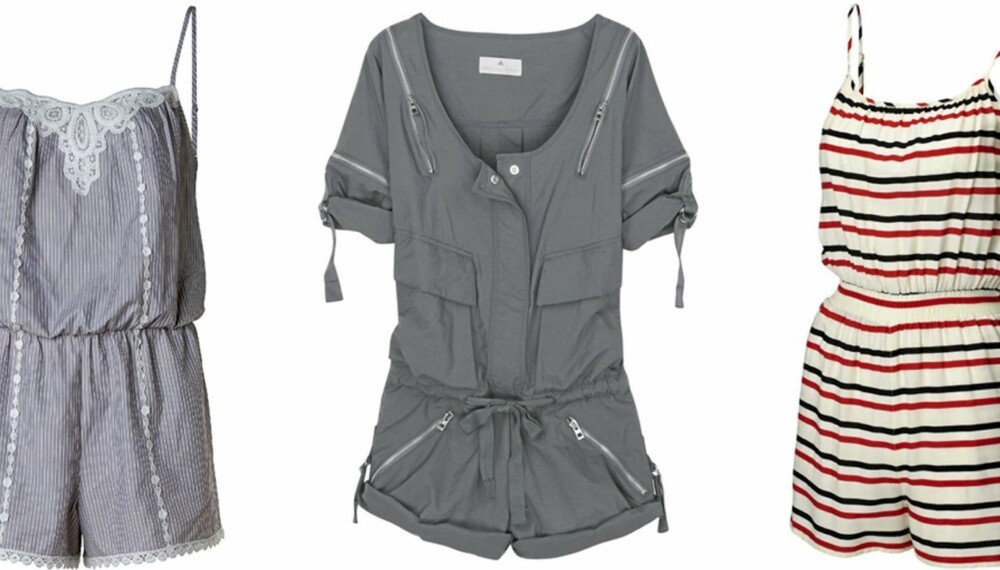 FRA VENSTRE: Mango (kr 449), Adidas by Stella McCartney (kr 958), H&M (kr 99).
