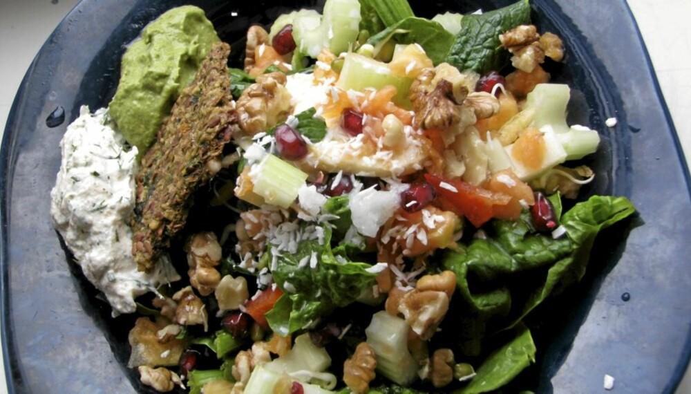 RAW FOOD: Konseptet går ut på å spise maten i sin naturlige, ubearbeidede form.