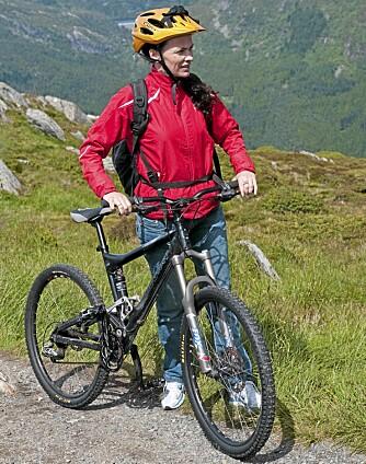 TO HJUL: Ta med sykkelen på sommerferie.
