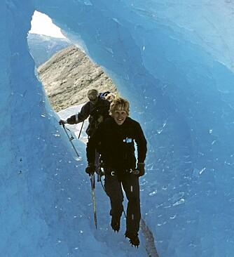 ISHULE: Bre-isen er både vakker og spennende.