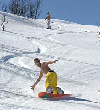 AVKJØLENDE: Stryn tiltrekker seg snowboardentusiaster året rundt.