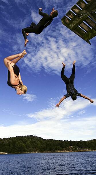 LUFTIG: Ta med vennene dine på aktiv Telemarks-ferie.