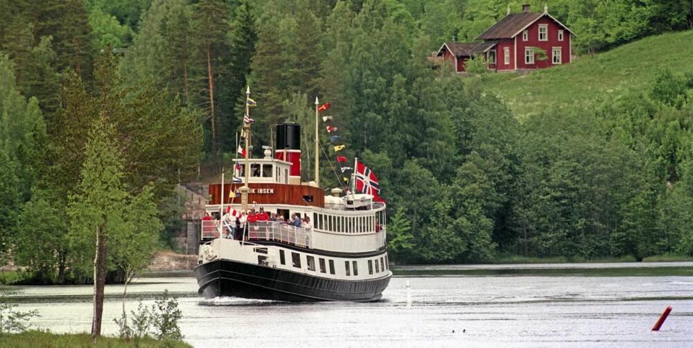 BANDAK: Telemarkskanalen ble i sin tid kalt «Verdens åttende vidunder». Det tok 150 mann fem år å bygge den.