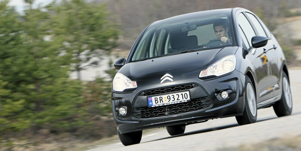 TRIVELIG: C3 er kort sagt en liten, trivelig bil.