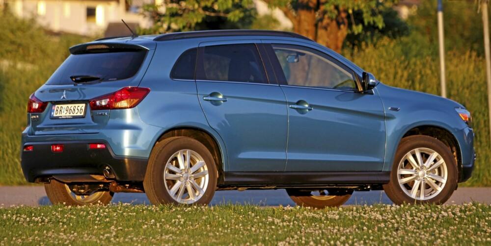 MIT-SUV-BISHI: Mitsubishi kaller den crossover, men ASX er på størrelse som kompakt-SUVene Tiguan, Kuga og ix35.
