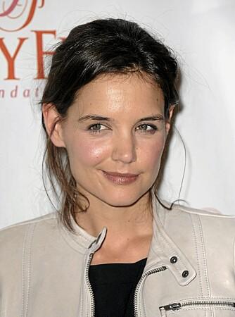 Rund: Katie Holmes har en rund ansiktsform.