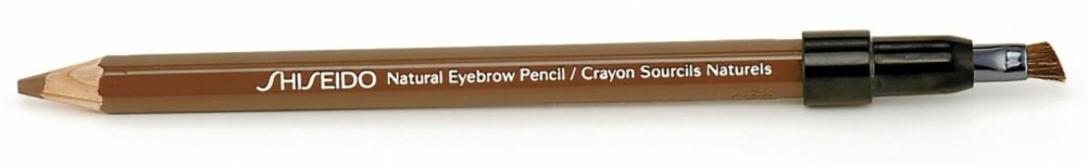 BRYNSPENN: Shiseido Natural Eyebrow Pencil i fargen Light Brown (kr 180).