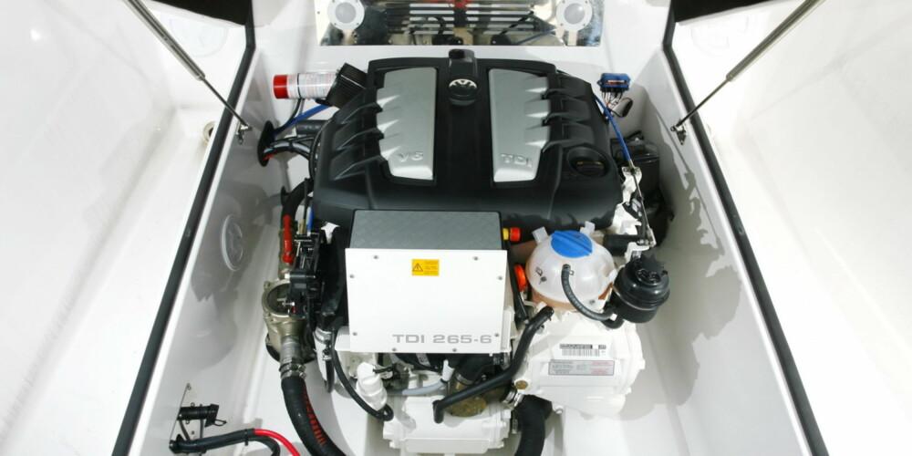 LETTVEKT: Volkswagens motorer kommer godt ut i våre tester.