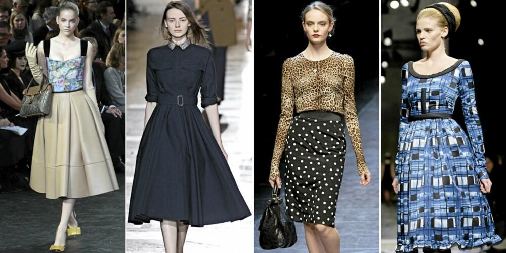 PÅ CATWALKEN: Louis Vuitton, Drien Van Noten, Dolce og Gabbana og Prada.