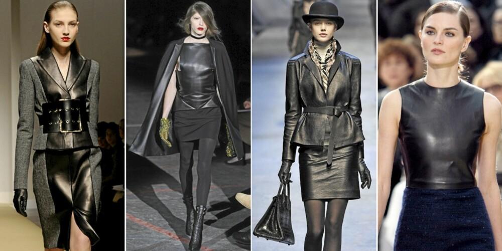 PÅ CATWALKEN: Ferre, Givenchy, Hermès og Celine.