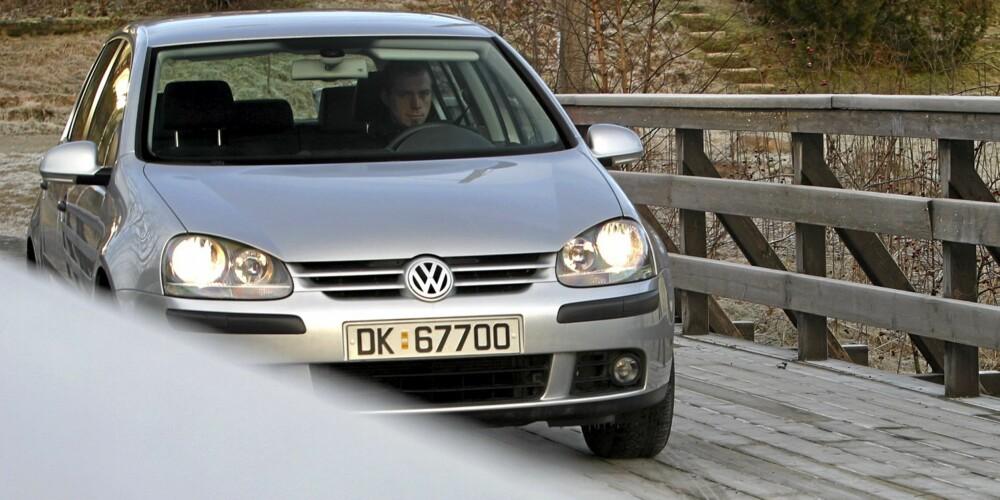 VW Golf er stikker av med seieren i kompaktklassen.
