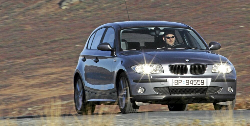 BMW 1-serie er kjøremesteren i klassen men ikke den beste allrounderen.
