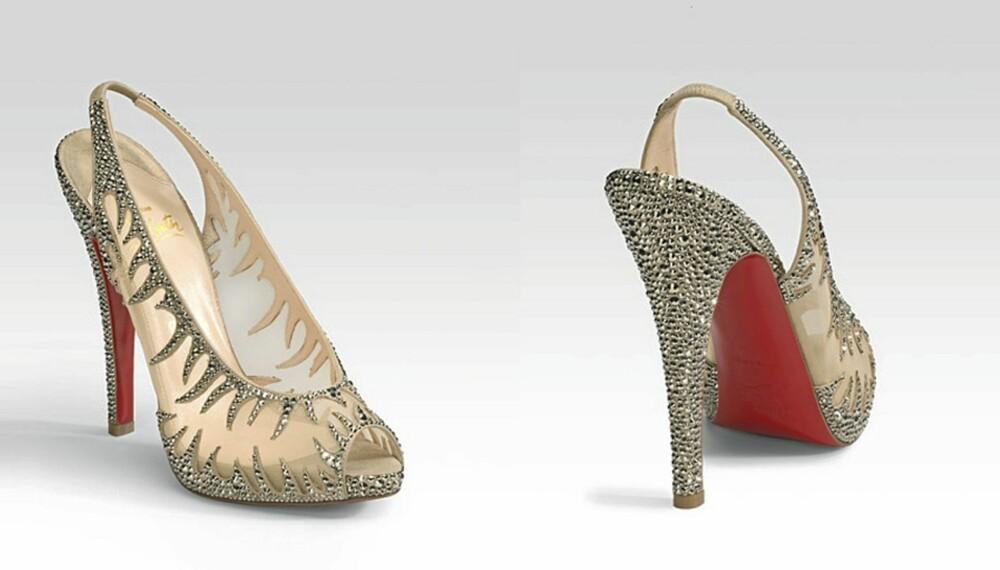 SEXY SKO: Christian Louboutins sko i modellen Marlena er kåret til årets mest sexy skopar.
