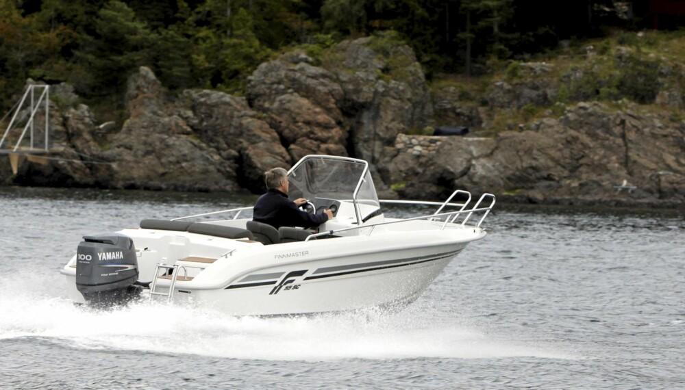 Finnmaster 55 SC gir et godt totalinntrykk