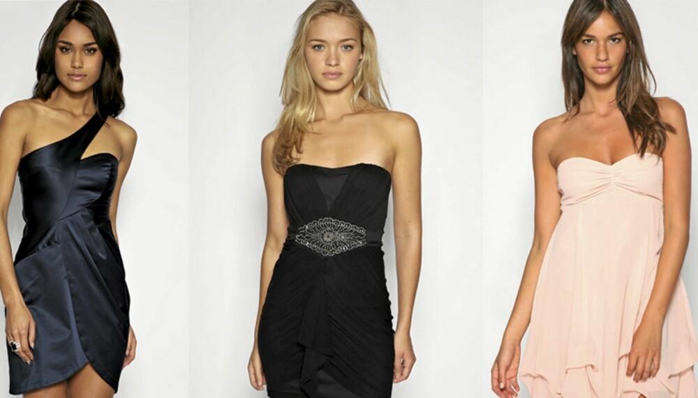 FREMHEV: Velg riktig snitt på kjolen, og fremhev det du er fornøy med.