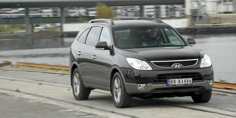 SPREK: Med en 240-hesters diesel-V6 har Hyundai iX55 mer kraft enn konkurrenter til samme pris.