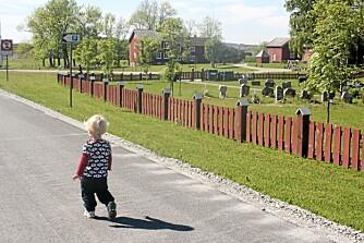 PÅ SIGHTSEEING: Ved Petter Dass-museet på Alstadhaug er det minst like spennende ute som inne. Gamle bygninger står side om side med et mye omtalt nybygg i fjellet som rommer utstillinger.