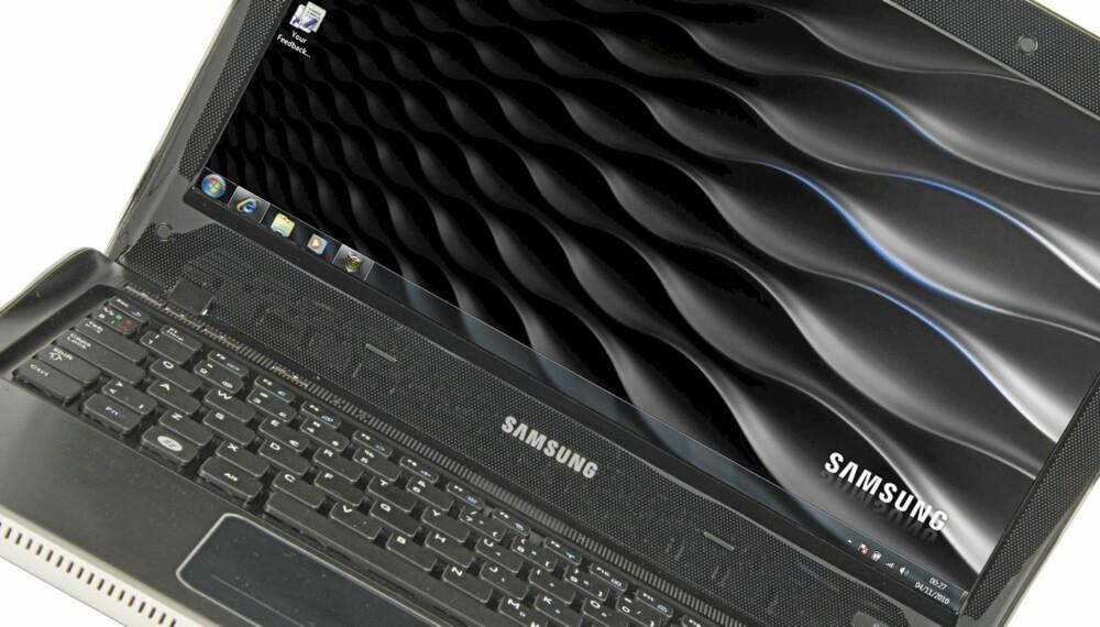 GREP: Kurven til Samsung fører til et ekstra godt grep på siden.