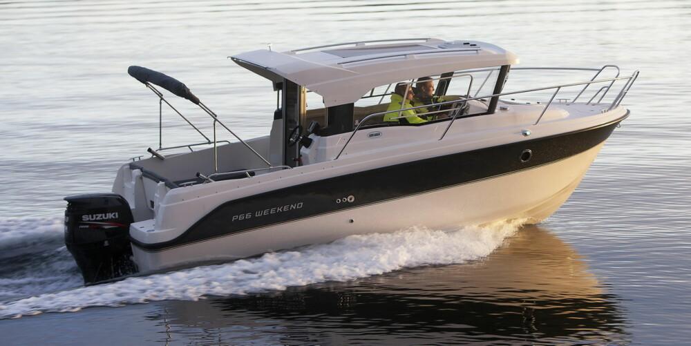 Askeladden P66 Weekend har sitte- og køyeplasser nok til å fungere som familiebåt.