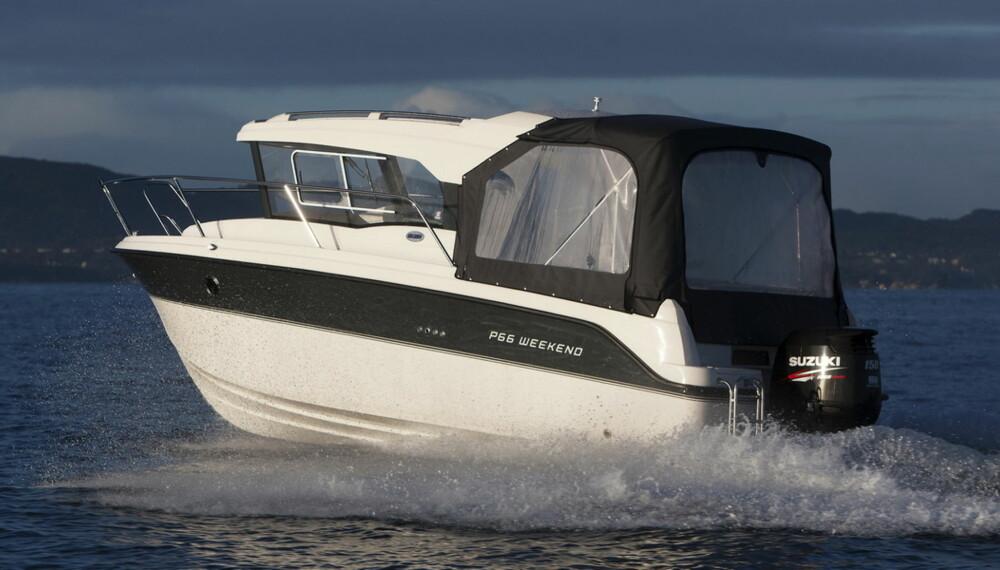 Askeladden P66 Weekender er en helt ny styrehyttebåt for helårsbruk.