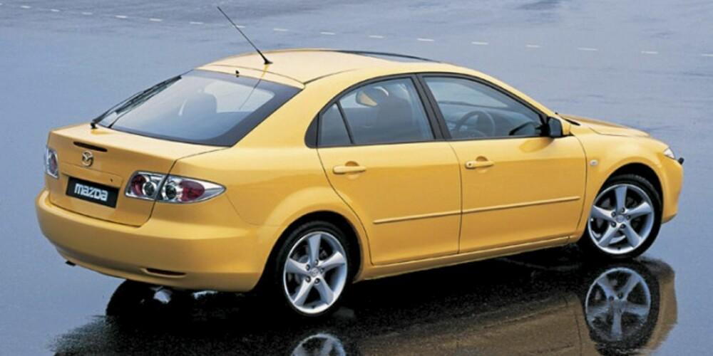 Mazda 6 kom i tre karosseriversjoner, kombimodellen er noe mer prisgunstig enn stasjonsvogn som bruktbil.