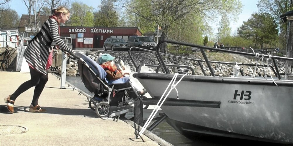 HJUL: Folk som baser seg på hjul i det daglige, enten det er snakk om rullestol eller barnevogn, har til nå ikke hatt så mye å velge i når det blir snakk om båt.