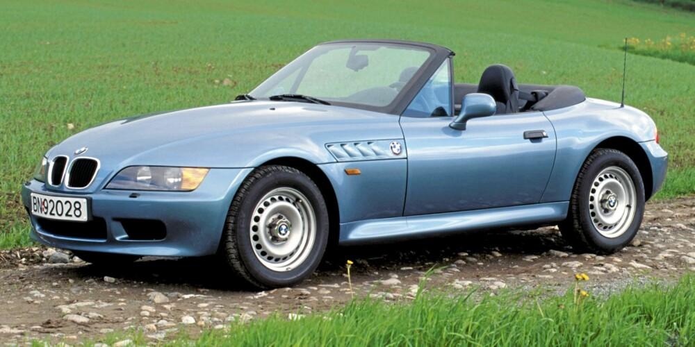 BMW Z3: Det er fortsatt mye kjøreglede i en velholdt BMW Z3.