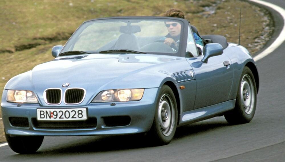 LITEN OG NETT: BMW Z3 var det bayerske svaret på Mazda MX-5