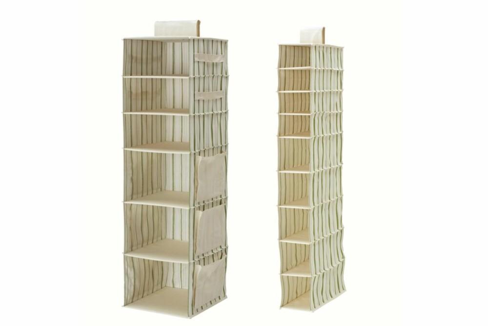 TØYHYLLE: Ikea og Granit selger ulike varianter fra kr 99.