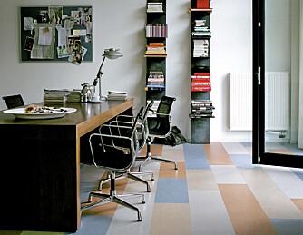 VINYL: Vinyl finnes i mange designer, farger og stiler.