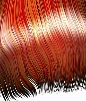 RØDT: Mange ønsker å bli rødhåret. Utfordringen er bare å velge riktig rødfarge.