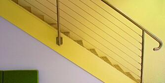 UNDER TRAPPA: Plassen under trappa kan også utnyttes til noe fornuftig.