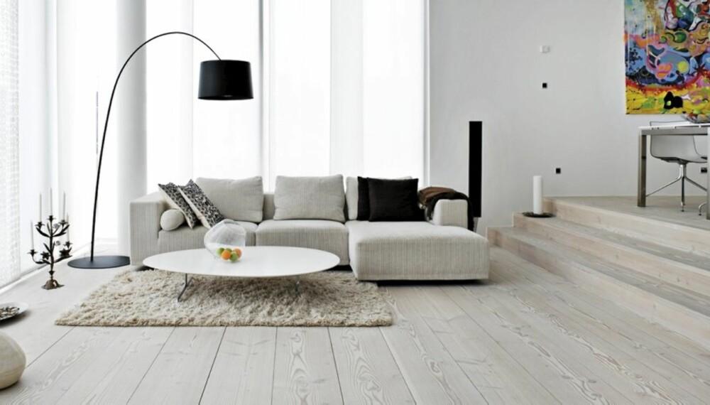 Det er viktig å velge gulv med omhu. Det skal passe både stil og behov.