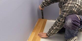 SKJØT: Skal være minst en halv meter fra veggen