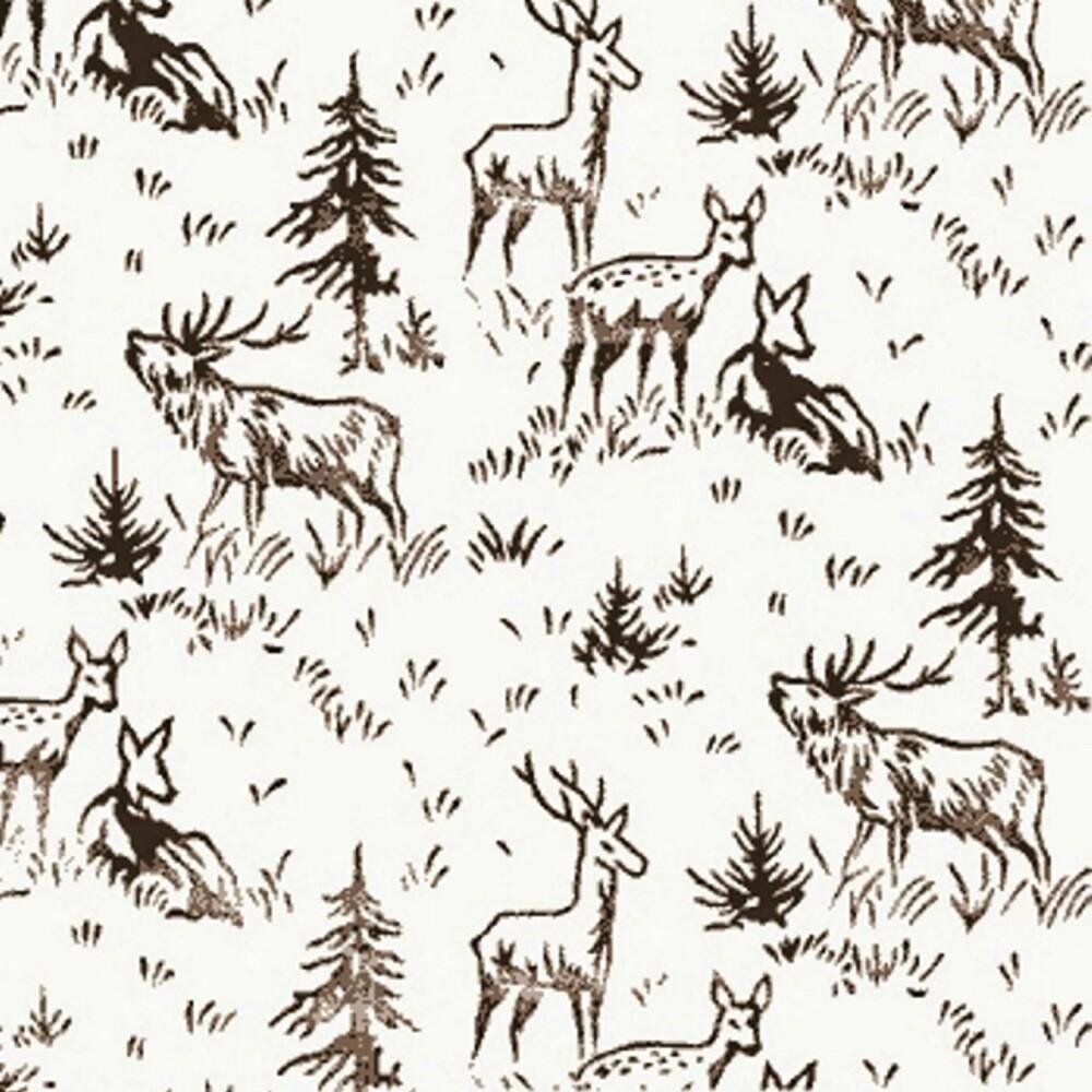 MØNSTER SOM RULLES PÅ: Slik kan resultatet av maling med mønsterrulle bli. Dette kan fås kjøpt fra rollerwall.com
