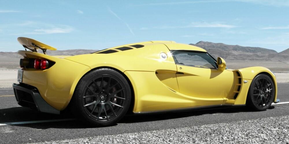 SUPERBIL: Hennessey Venom GT.