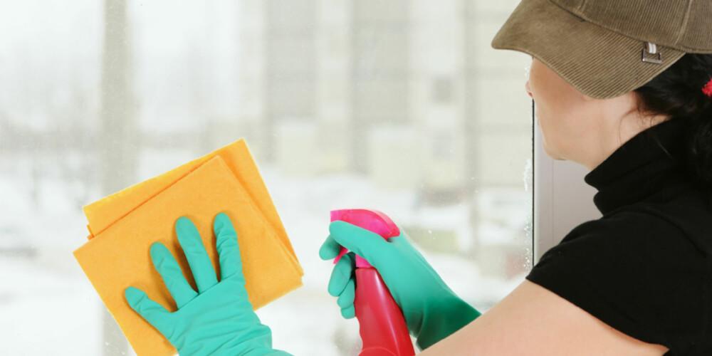 VANLIGE FEIL: Det er mange av oss som slurver med rengjøringen.