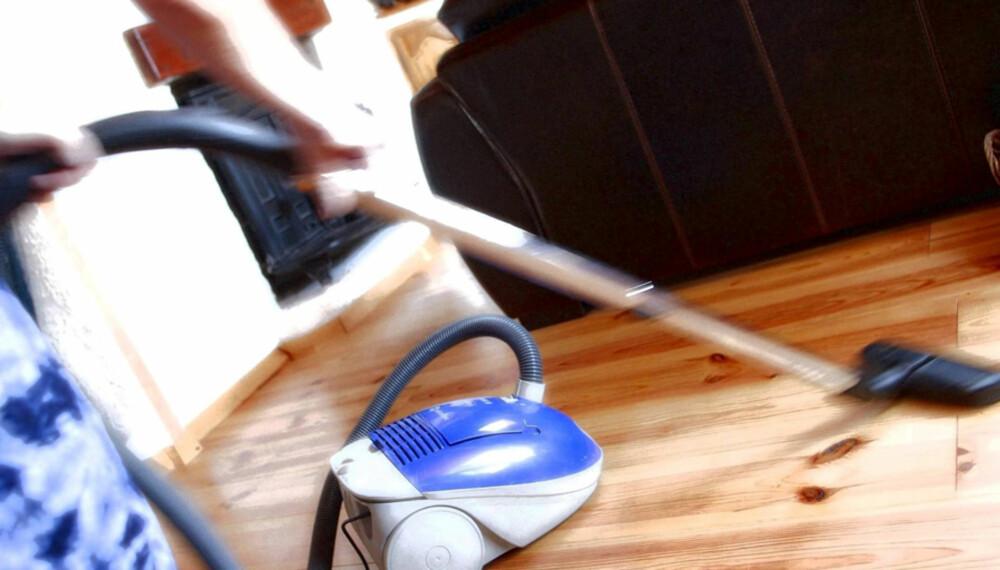 IKKE GLEM DETTE: Det er mye å huske på når huset skal gjøres rent.