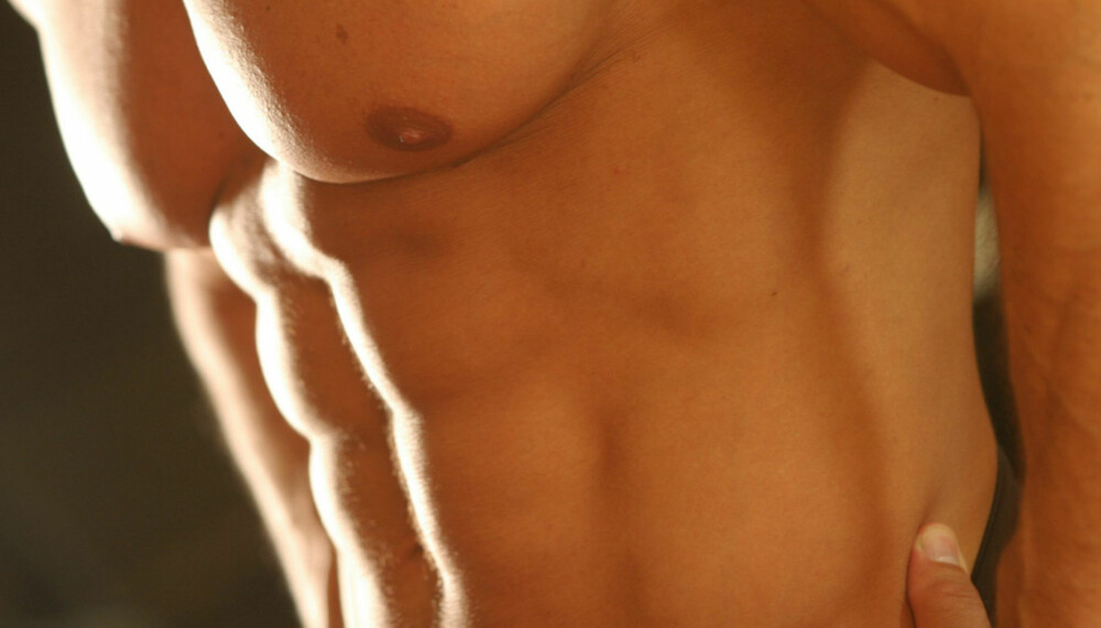 TREN RIKTIG: For å få sixpack er det viktig å gjøre mageøvelsene riktig.