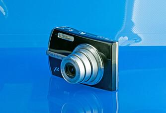 Olympus µ 1200 er det enste kameraet i testen som også tåler en tur i dusjen.