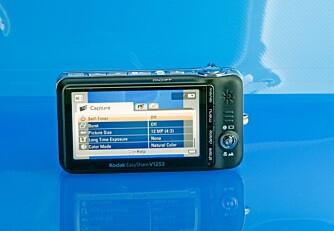 Kodak EasyShare V1253 har et av de beste systemene for video.