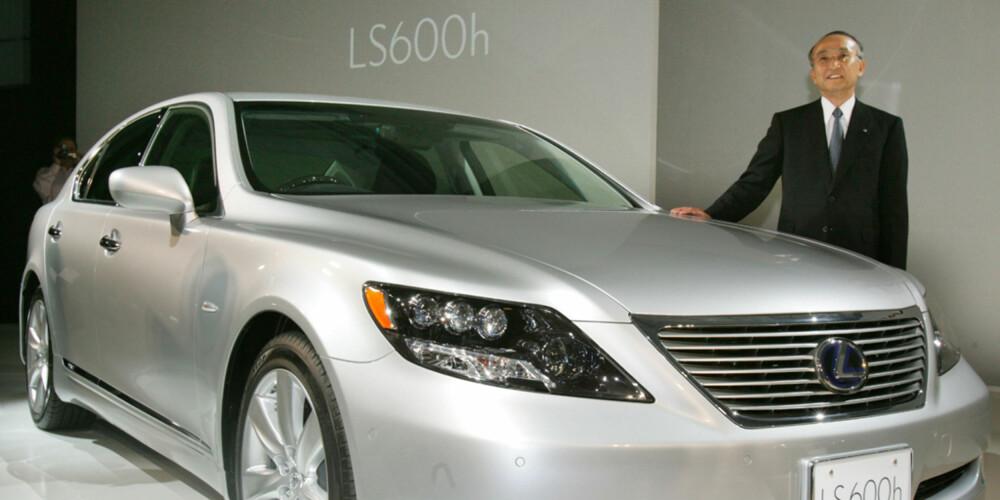 Lexus, som er eid av Toyota, er ett av merkene som er langt fremme på hybridteknologi.