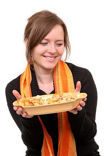 NØTT: Umettet fett i blant annet nøtter sender metthetssignaler til hjernen din.