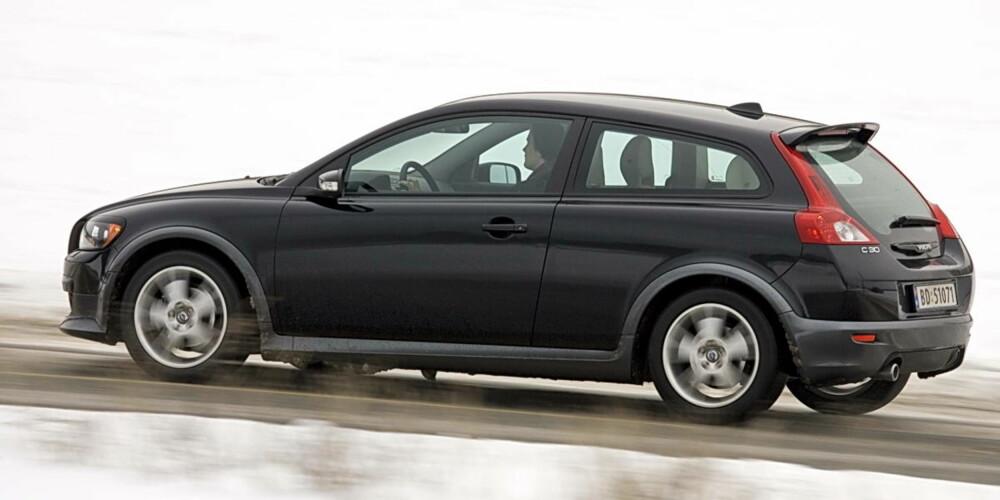 974db61e Volvo C30 er liten, men har store egenskaper. Vi har kjørt bilen med den  friske 1,6D motoren.