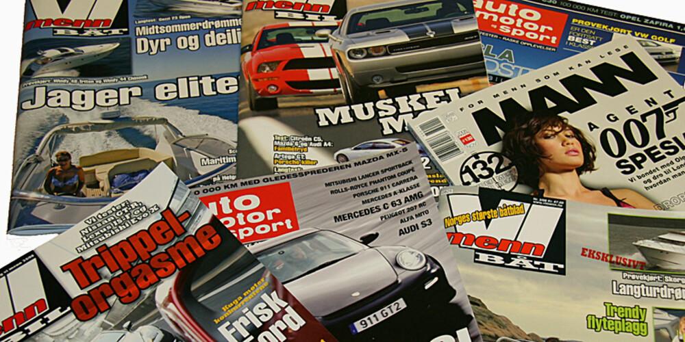 FLOTT GAVE: Abonnement på et blad kan være den perfekte gaven til noen som har alt.