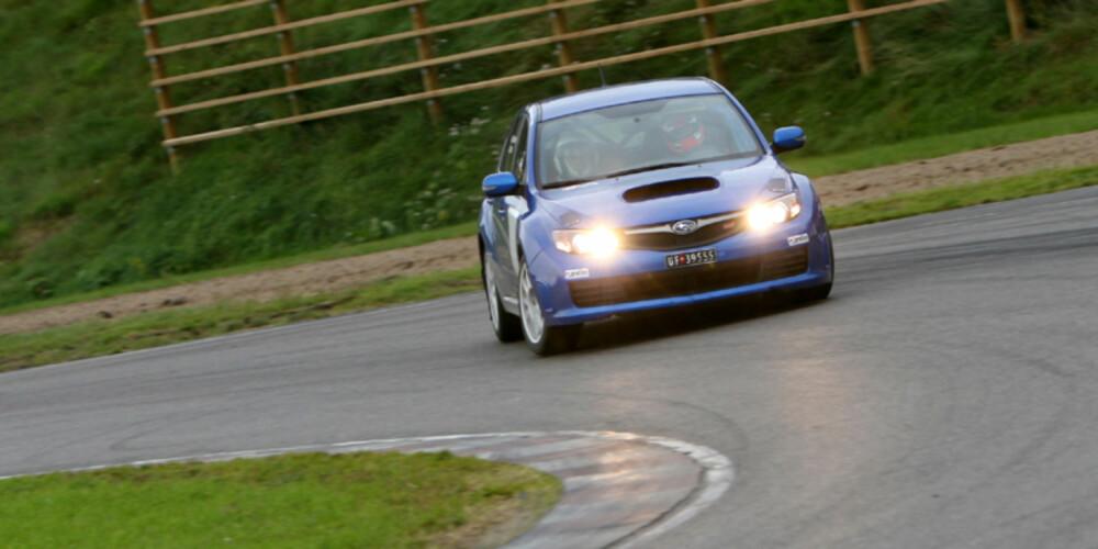 HELGEKOS: En Subaru Rallycup-bil kan by på mye spenning gjennom sesongen.