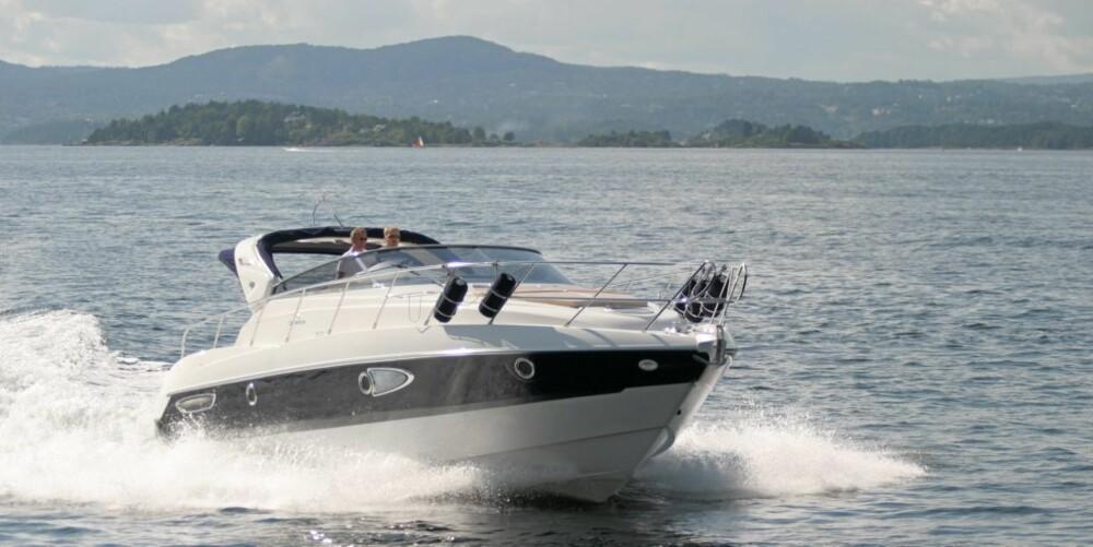 PRAKTISKE DETALJER: Cranchis flaggskip i Master Cruiser-serien er ny av året og byr på kvalitetsfølelse og praktiske detaljer.
