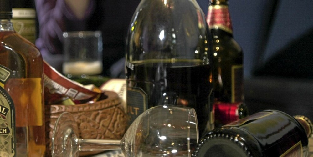 FYLL: Alkoholskader er ikke like omfattende som skadene av fylla.