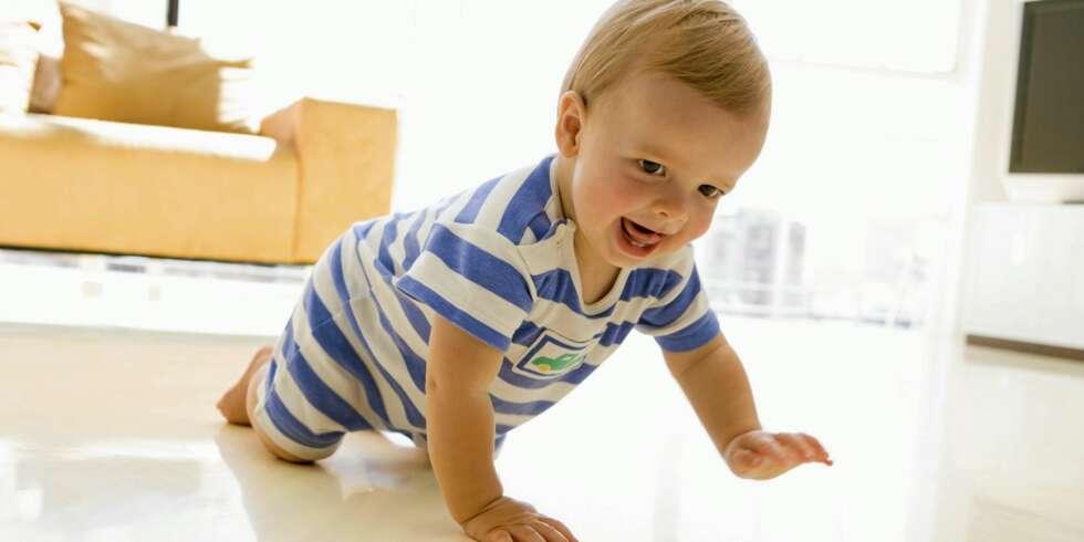 Baby 8 mnd - Babyens utvikling