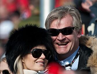 OPPKALLING: Celina Midelfart og Tor Olav Trøim er et av Norges rikeste par. I fjor fikk de en sønn som heter Olav - samme som sin far.